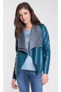 Молодёжная куртка из кожзама Zaps Ivet
