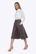 Женская юбка цвета мокко Emka S527/selena