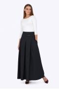 Длинная тёмно-синяя юбка Emka Fashion 427-lorita