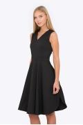 Чёрное платье Emka PL-603/selita
