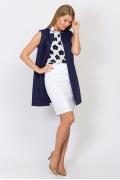 Тёмно-фиолетовый кардиган Emka Fashion GL-012/sugar