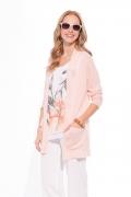 Розовый летний кардиган Sunwear W03