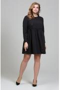 Чёрное коктейльное платье Donna Saggia DSPB-33-6