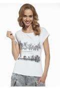 "Женская футболка ""New York"" Briana 8811"