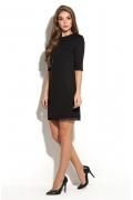 Чёрное коктейльное платье Donna Saggia DSP-226-4t