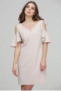 Коктейльное платье с V-образным вырезом Donna Saggia  DSP-300-2