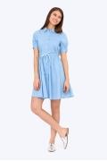 Платье с рубашечным воротником Emka PL-641/trifena