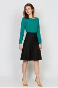 Юбка чёрного цвета Emka Fashion 621-almaza