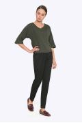 Классические брюки с завышенной талией Emka D-032/djolin