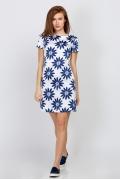 Летнее платье из хлопка Emka Fashion PL-522/Fior