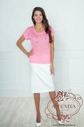 Блузка розового цвета Andovers 205508