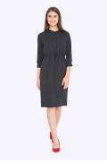 Платье свободного кроя с кулиской Emka PL-665-1/noemi