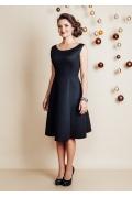 Чёрное платье TopDesign Festive NB6 26