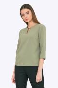Женская блузка оливкового цвета Emka B2270/lorikeet
