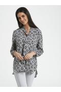 Летняя блузка свободного кроя Ennywear 250052