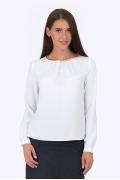 Белая блуза Emka Fashion b 2117/anet