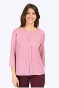 Блузка пастельно-розового цвета Emka B2288/zayn