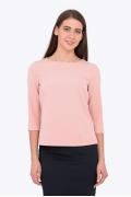 Стильная блузка персикового цвета Emka b 2204/malek