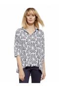 Женская рубашка свободного кроя Enny 230047