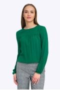 Зеленая блузка Emka B2302/calvin
