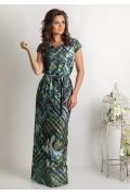 Длинное летнее платье TopDesign Premium PA6 20