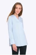 Рубашка свободного кроя с V-образным вырезом Emka b 2259/hadiya