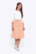 Хлопковая юбка А-силуэта Emka Fashion 694-65/adeleid
