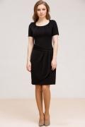 Чёрное платье Remix 7038