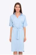 Повседневное летнее платье нежно-голубого цвета Emka PL-582/djilian