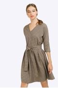 Повседневное платье с рукавом 3/4 Emka PL856/montgomery