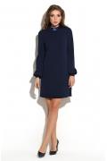 Тёмно-синее платье Donna Saggia DSP-243-41t