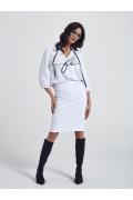 Белая блузка Ennywear 250092