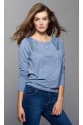Блузка с кружевными вставками Zaps Sona