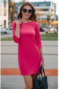 Коктейльное платье розового цвета Donna Saggia DSP-102-62t