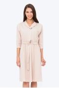 Платье с V-образным вырезом Emka PL-576/deniz