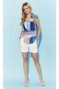 Белые женские шорты Zaps Polly