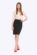 Женская юбка чёрного цвета Emka 663/binazir
