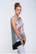 Удлиненная футболка-туника Issi 171102