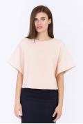 Персиковая блузка Emka Fashion b 2202/fidan