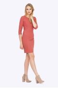 Изящное платье-футляр Emka PL685/kirsana