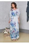 Лёгкое летнее полупрозрачное платье TopDesin Premium PA8 39