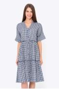 Платье рубашка А-силуэта Emka PL-583/bianka