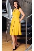 Летнее платье без рукавов TopDesign Premium PA7 04