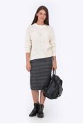 Тёплая шерстяная юбка Emka Fashion 605-aisedora
