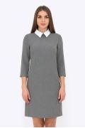 Платье с белым воротником Emka Fashion PL-440/manefa