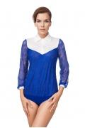 Кружевная блузка боди Viva La Donna Б 12-3