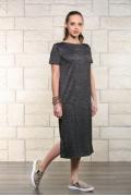 Длинное летнее трикотажное платье Issi 171507