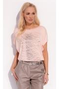 Персиковая блузка Zaps Sonia