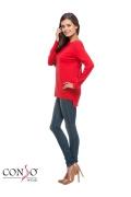 Красный джемпер из тонкого трикотажа ConsoWear KWJS160721