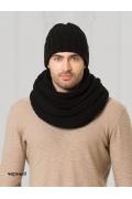 Мужская шапка чёрного цвета Landre Берлин
